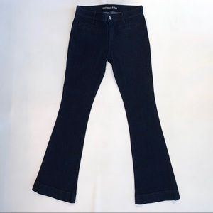 Express Slim Flare Mid Rise Jeans size 6